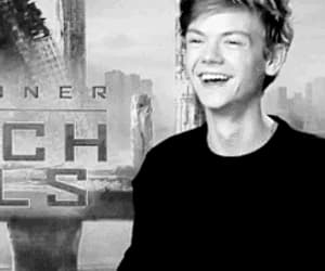 actor, thomas brodie-sangster, and black & white image