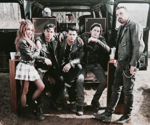 riverdale, cole sprouse, and skeet ulrich image