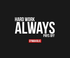 fitness, hard work, and motivation image