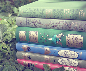 book, fairy, and green image
