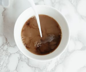 coffee, marble, and morning image