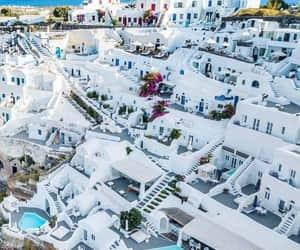 Greece, white, and santorini image