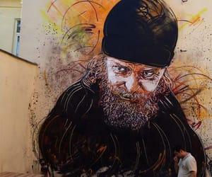 alone, graffiti, and creativity image
