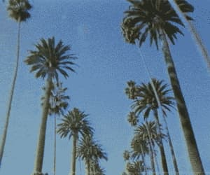 gif, sky, and blue image