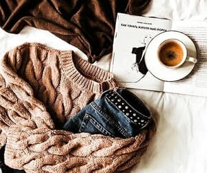 autumn, cozy, and sweater image