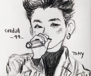 fan art, block b, and u-kwon image