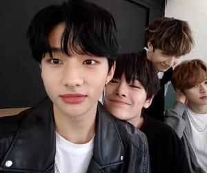 Chan, hyunjin, and jeongin image