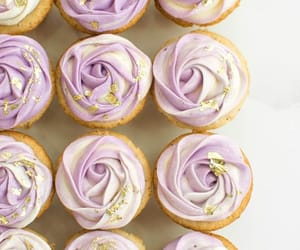 cupcakes, fruit, and sweet image