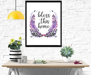 etsy, home decor, and wall decor image