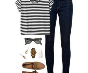 moccasins and t-shirt image