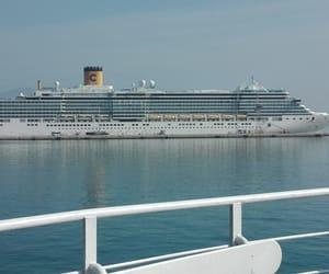 cruise, harbor, and holidays image