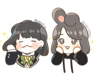 fanart, girls, and bts image