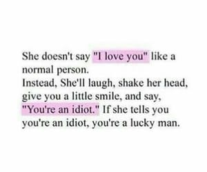 love, quotes, and idiot image