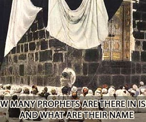 islam, prophets, and islamic image