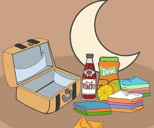 arab, Ramadan, and suitcase image