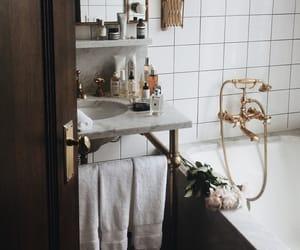 bathroom, fashion, and house image