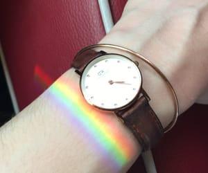 sun, watch, and bracelet image