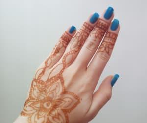 azzurro, blu, and decorazione image