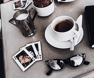 chill, style, and coffee image
