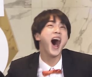 funny, jin, and laugh image