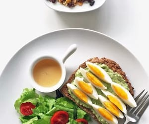 breakfast, healthy, and brunch image