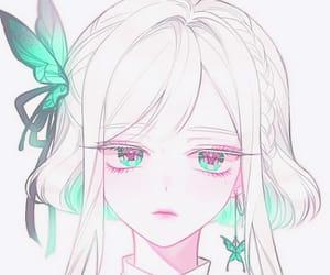 anime, cool, and anime girl image