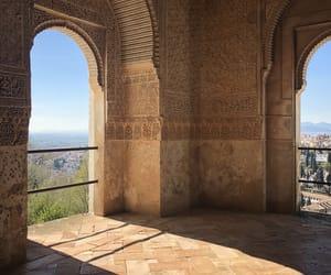 Alhambra, Granada, and muslim image