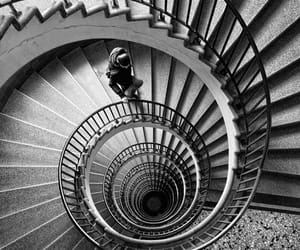 spiral and stairs image