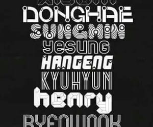 donghae, eunhyuk, and henry image