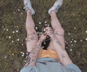 art, drawing, and skin image