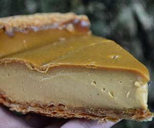 custard, french food, and dessert image