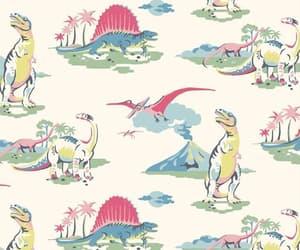 dinosaur and wallpaper image