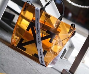 bag, off white, and see thru image