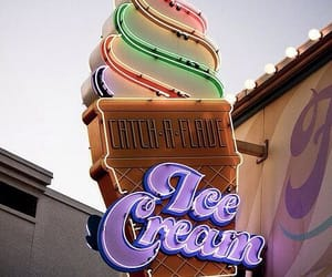 background, cream, and ice cream image