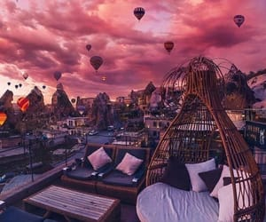 sky, pink, and travel image