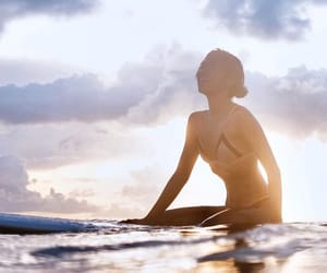 board, surf, and surfing image
