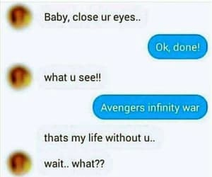 Avengers, funny, and love image