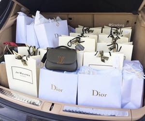 car, dior, and expensive image