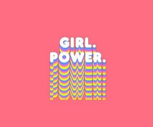 wallpaper, feminist, and girl power image