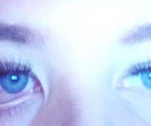 blue, blue eyes, and pretty eyes image