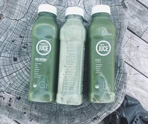 juice, green, and drinks image
