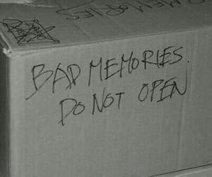 memories, bad, and box image