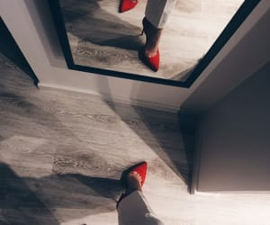 classy, shoes, and red image