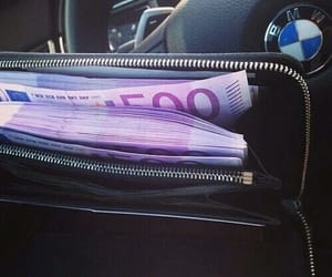 money, bmw, and car image