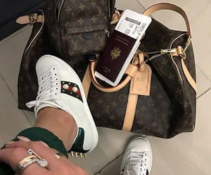 bag, gucci, and Louis Vuitton image