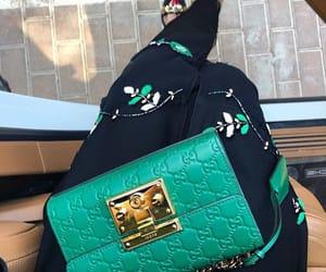 bag, abaya, and Dubai image