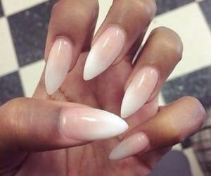 nails, luxury, and white image