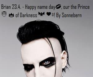 antichrist, black hair, and makeup image