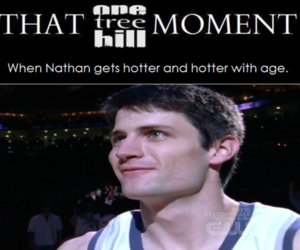 james lafferty, nathan scott, and that one tree hill moment image
