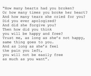 broken, forgive, and girl image